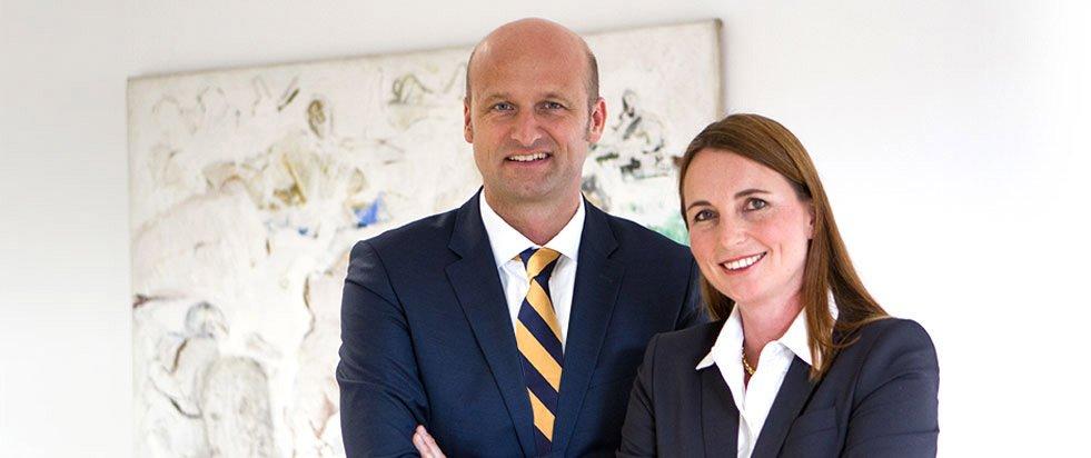 Foto der Anwälte Andrea Borgmann Witting und Markus Witting